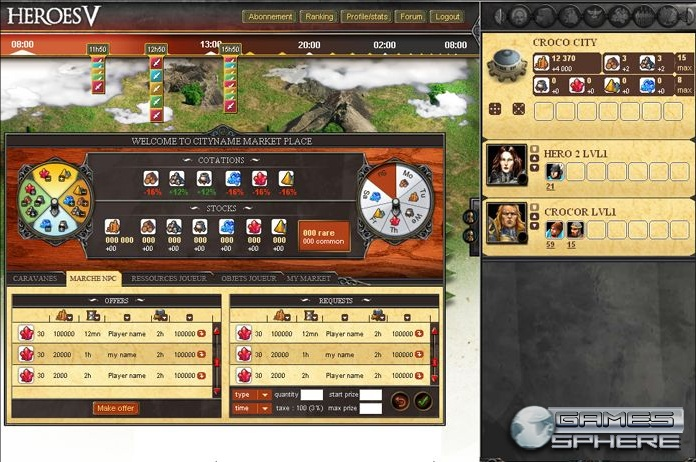 Might and Magic: Heroes Kingdoms Screenshot
