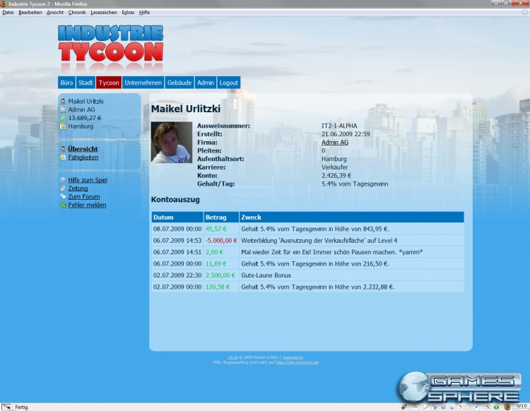Industrie Tycoon Screenshot