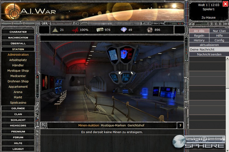A.I. War Screenshot