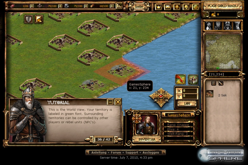 Dark Age Wars Screenshot