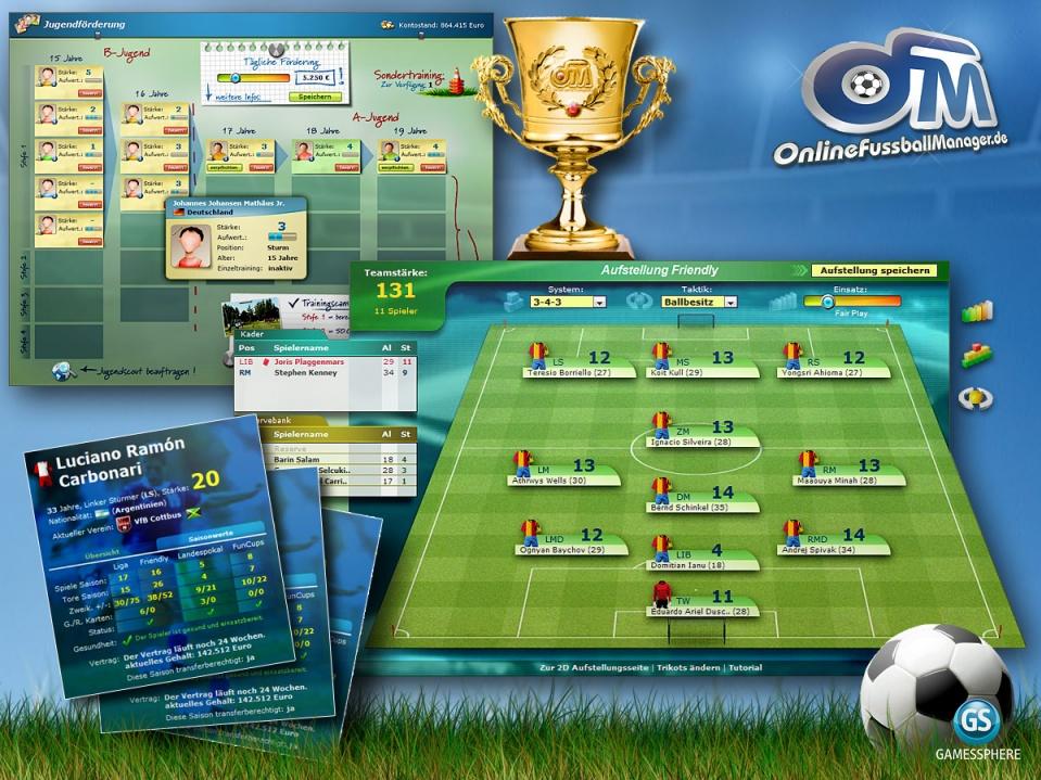 FuГџballmanager Online