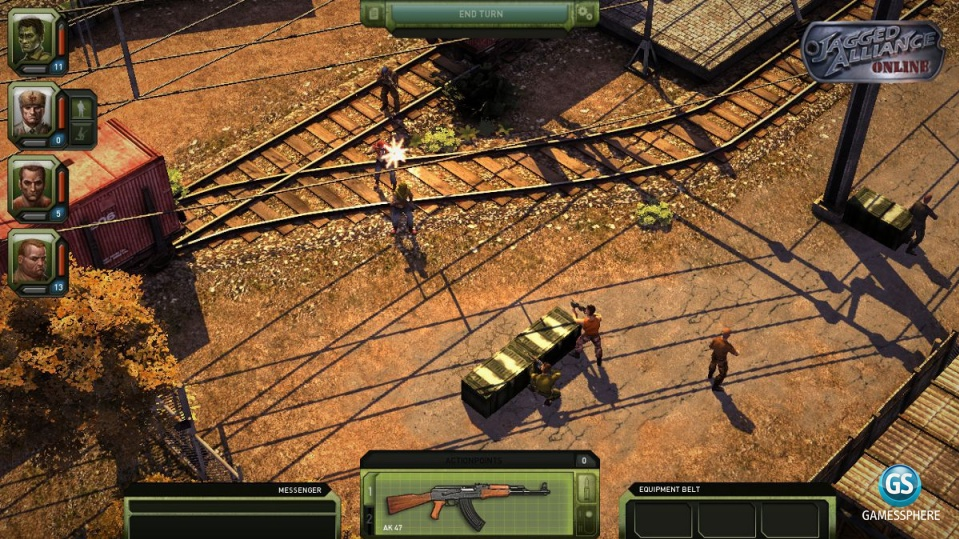 Jagged Alliance Online Screenshot