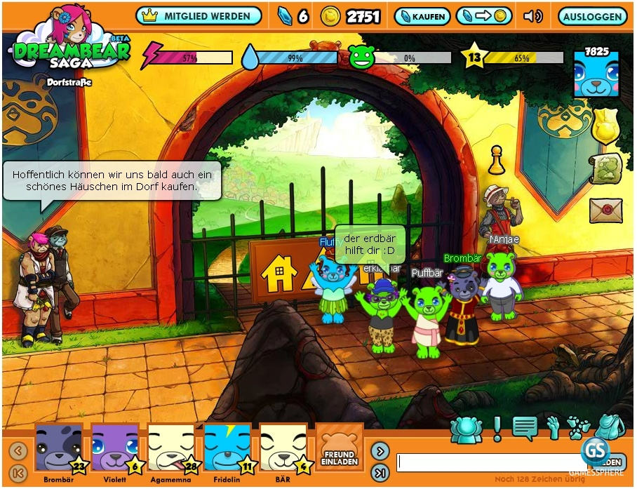 Dreambear Saga Screenshot