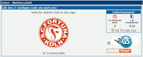 Club-Vote Screenshot