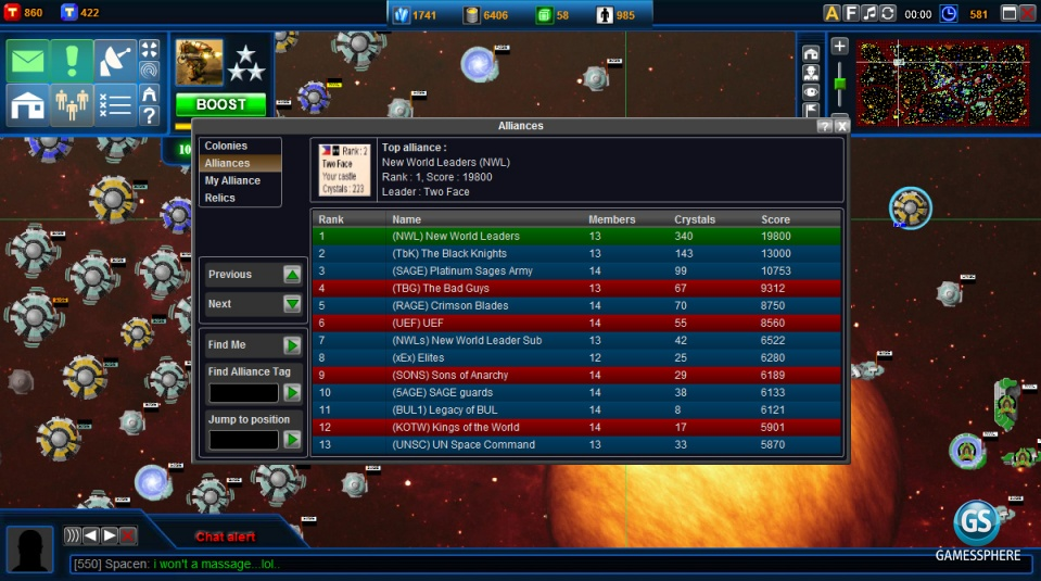 Battledawn Galaxies Screenshot