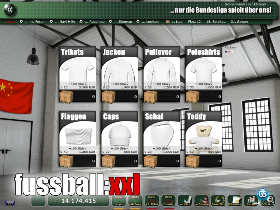Fussball Xxl Screenshot Gamessphere