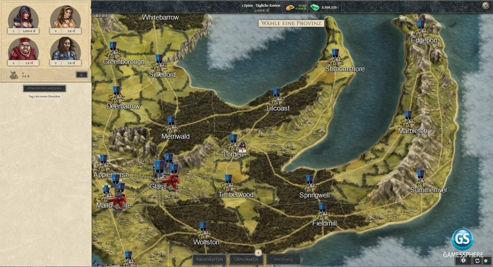 Thirty Kingdoms Screenshot