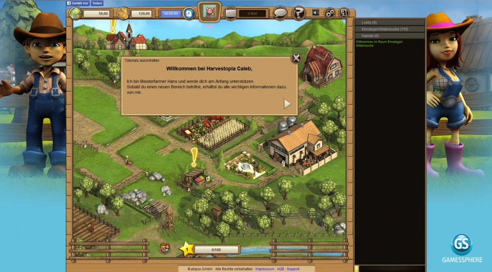 Harvestopia Screenshot