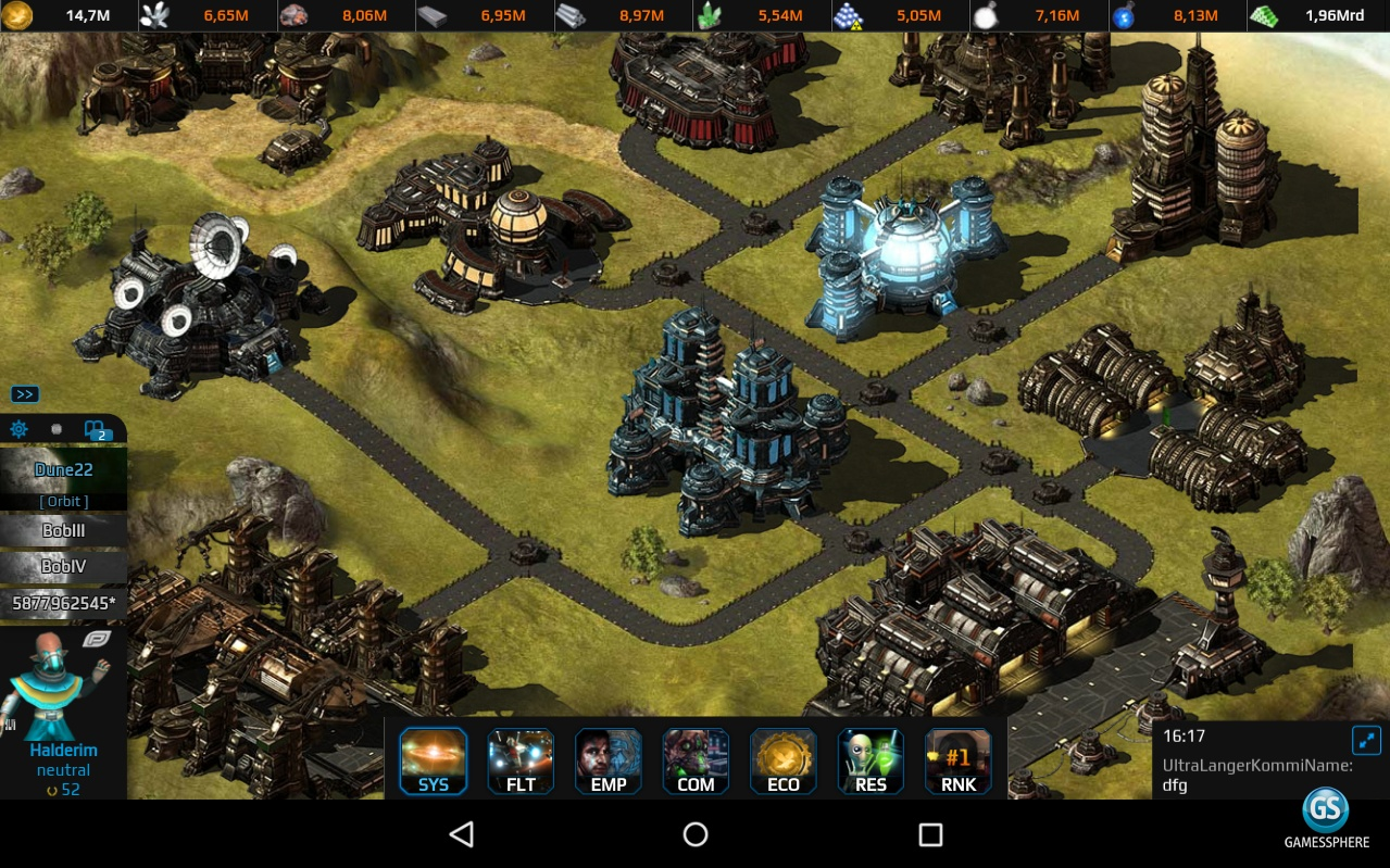 Empire Universe Screenshot